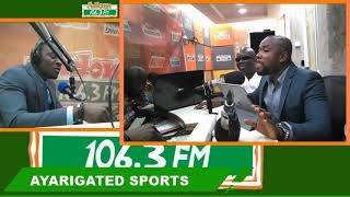 Ayarigated Sports on Adom FM (4-2-19)