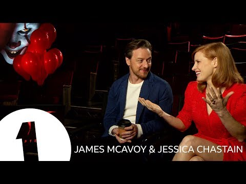 """""""I WANT EVERYTHING!"""" James McAvoy and Jessica Chastain on battling Pennywise in It: Chapter Two"""