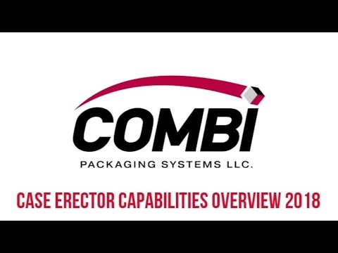 2018 Case Erector Capabilities Overview