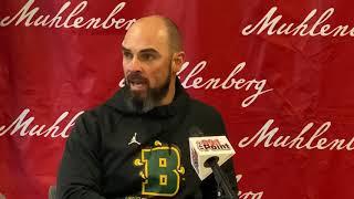 Brockport Head Coach Jason Mangone Postgame Thoughts at Muhlenberg