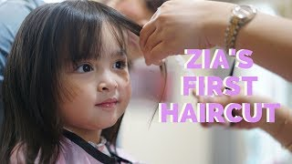 Download Video Hair like Mama - Zia Dantes gets her first haircut | The Dantes Squad MP3 3GP MP4