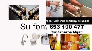 preview picture of video 'FONTANEROS NIJAR 653 100 477 FONTANERIA'