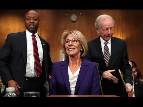 Is Trump's Education Pick Funding Gay Conversion Therapy?