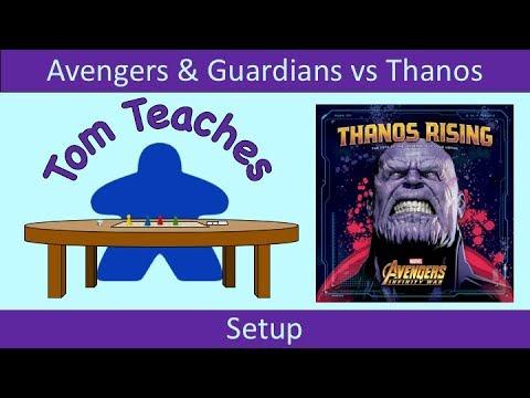 Tom Teaches Thanos Rising (Setup)