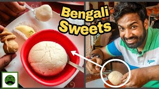 Best Sweets In Kolkata Part 1 | KC Das, Balaram Mullick &more| Indian Street Food Series |