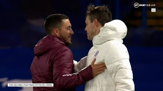Eden Hazard congratulates former Chelsea team-mates on Champions League victory over Real Madrid