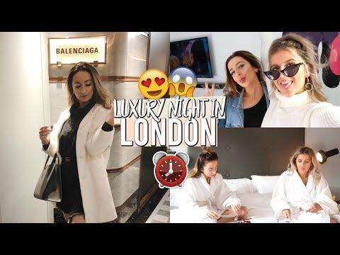 24 HOURS IN A LUXURY LONDON HOTEL WITH MY BEST FRIEND (vlog)