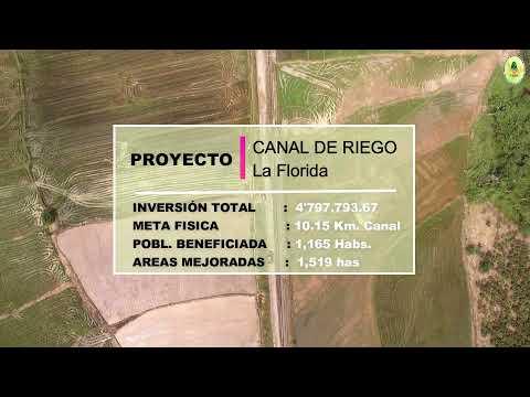 El Proyecto Especial Alto Huallaga (PEAH)  cuenta con Proyectos Emblemáticos de Riego en Huánuco y San Martin