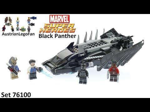 Vidéo LEGO Marvel Super Heroes 76100 : L'attaque en avion chasseur royal