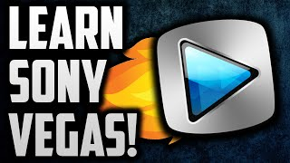 How To Use Sony Vegas Pro 13 For Beginners! Sony Vegas Tutorial!