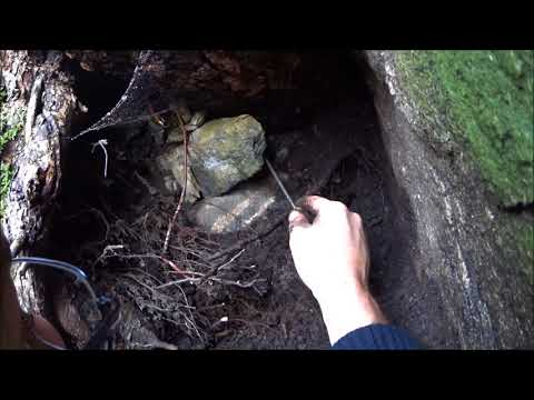 Vågsnes Grube / Epidot - Mineralien sammeln in Norwegen