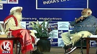 MM Keeravani With Isha Foundation Chief Sadhguru Jaggi Vasudev | Special Interview | V6 News