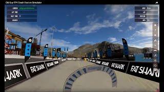 Old Guy FPV Crash Fest on Simulator
