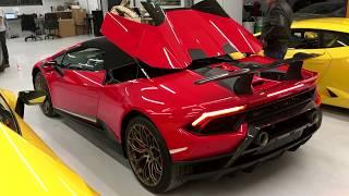 Primer Lamborghini Huracan Performante Spyder en México
