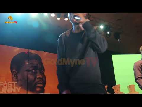 ZLATAN IBILE'S PERFORMANCE AT SEYI LAW FAST AND FUNNY BLACKER THAN EVER