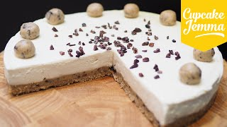 Cookie Dough Cheesecake Recipe | Cupcake Jemma