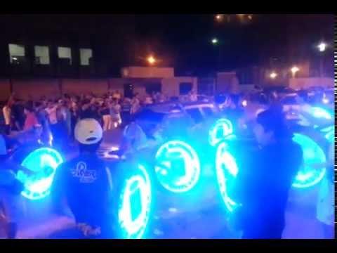"""""""LOS CHIFLADOS   PRESENTACION DE BLOOMING 2014"""" Barra: Los Chiflados • Club: Blooming"""
