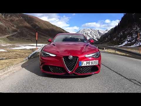 L'unique Alfa Romeo Giulia Quadrifoglio