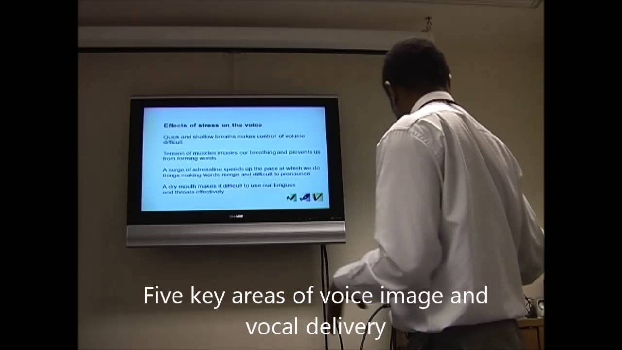 Presentation Skills - Delivery Skills and Voice Projection - 5 Key ways to present with impact