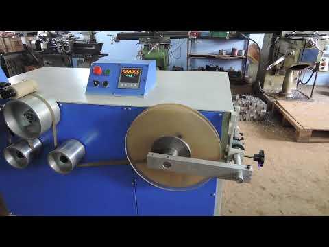 Vertical Tape Roll Winding Machine