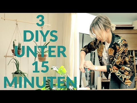 3 DIY´s unter 15 Minuten! Pflanzen | DIY