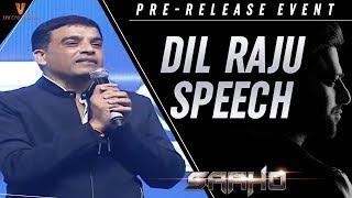Dil Raju Speech | Saaho Pre Release Event | Prabhas | Shraddha Kapoor | Sujeeth | Ghibran