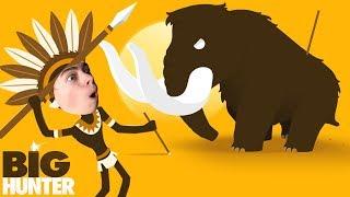 Big Hunter Я КРУТОЙ ОХОТНИК ПРИКЛЮЧЕНИЯ человечка против Гигантских ЗВЕРЕЙ ОТ КАНАЛА Games Factory