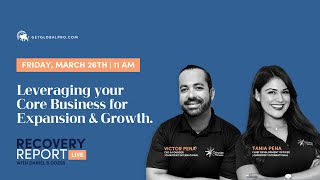 Recovery Report Live with Guests Victor and Tania Pena Ep.42