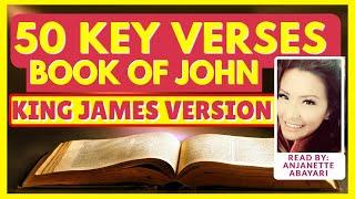 Book Of John KJV King James Version KJV | Bible Memory Verses KJV | Book Of John Audio KJV