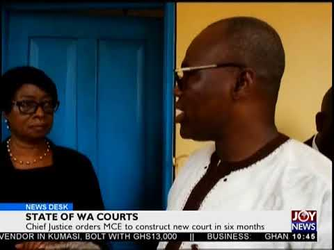 State Of Wa Courts - News Desk on Joy News (10-5-18)