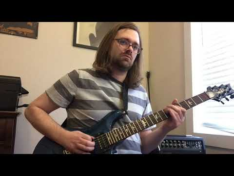 "Me playing through the solo section to Pink Floyd' ""Comfortably Numb""."