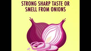 How to Remove the Strong Sharp Taste or Smell From Onions
