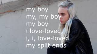 Billie Eilish   My Boy (Lyrics)