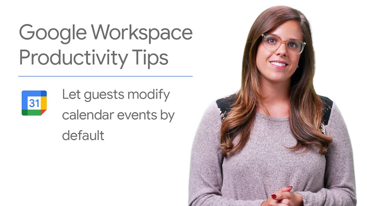 In this episode of The Suite Life, Laura Mae Martin shows you how to grant modify access by default to guests in your Google Calendar event in just one step!