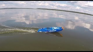 Радиоуправляемые модели лодок для рыбалки