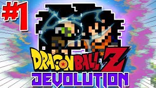 BACK TO MEMORY LANE, STILL LOVE THIS GAME! | Dragon Ball Z: Devolution (UPDATED) - Episode 1