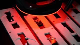 PCB (printed circuit board) Depaneling using UV Laser