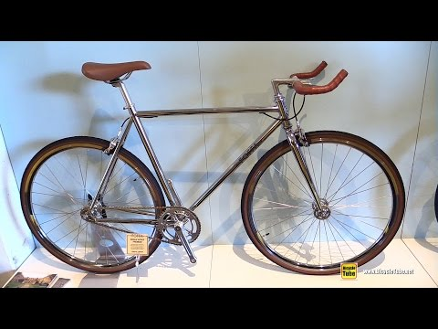 2016 Foffa Single Speed Premium Track Bicycle – Walkaround – 2015 Eurobike