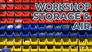TOP 6 GARAGE WORKSHOP FEATURES PART 4 - STORAGE