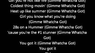 Chris Brown FT lil wayne - Gimme watcha got (Lyrics on screen) karaoke Exclusive