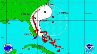 Hurricane Matthew shifts southward, region out of projected path