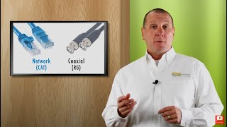 How to choose the right security camera cable. Cable types & maximum distances for video & power.