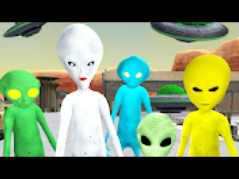 Alien Neighbor Area 51 Escape   Level 1 To Level 5