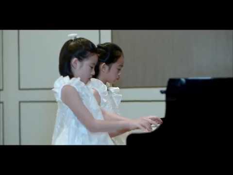 "ZOEY TAY & ZUINE TAY play Levi Gunardi's ""DANCING AMONG THE STARS"""