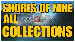 God of War - Shores of Nine All Collectible Locations (Ravens, Chests, Artefacts, Shrines) - 100%