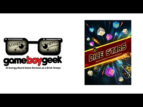 The Game Boy Geek's (Allegro 2-min) Review of Dice Stars