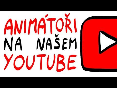 Animátoři na našem YouTube