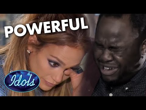 Jennifer Lopez CRIES After Homeless Man Audition's For American Idol   Idols Global