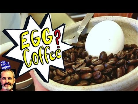 No Coffee Pot stovetop EGG COFFEE