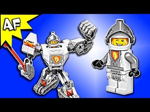 Vidéo LEGO Nexo Knights 70366 : La super armure de Lance
